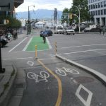 Flashback Friday: Vancouver Separated Bikeways