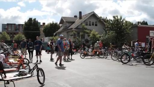 Bikes for earthquakes