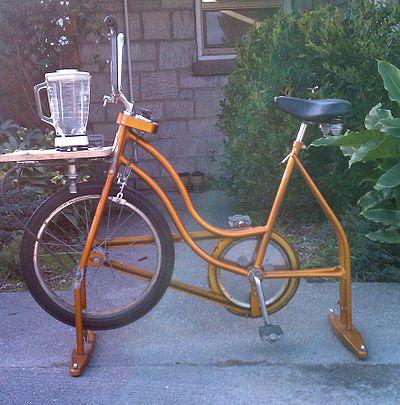 Many uses for a bike