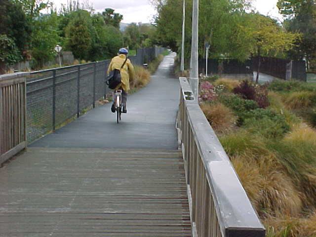 Cycle paths – important for keeping our aging population fit and well?