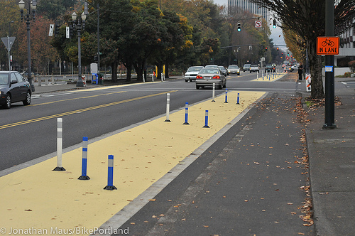 Separated Bikeways in Portland