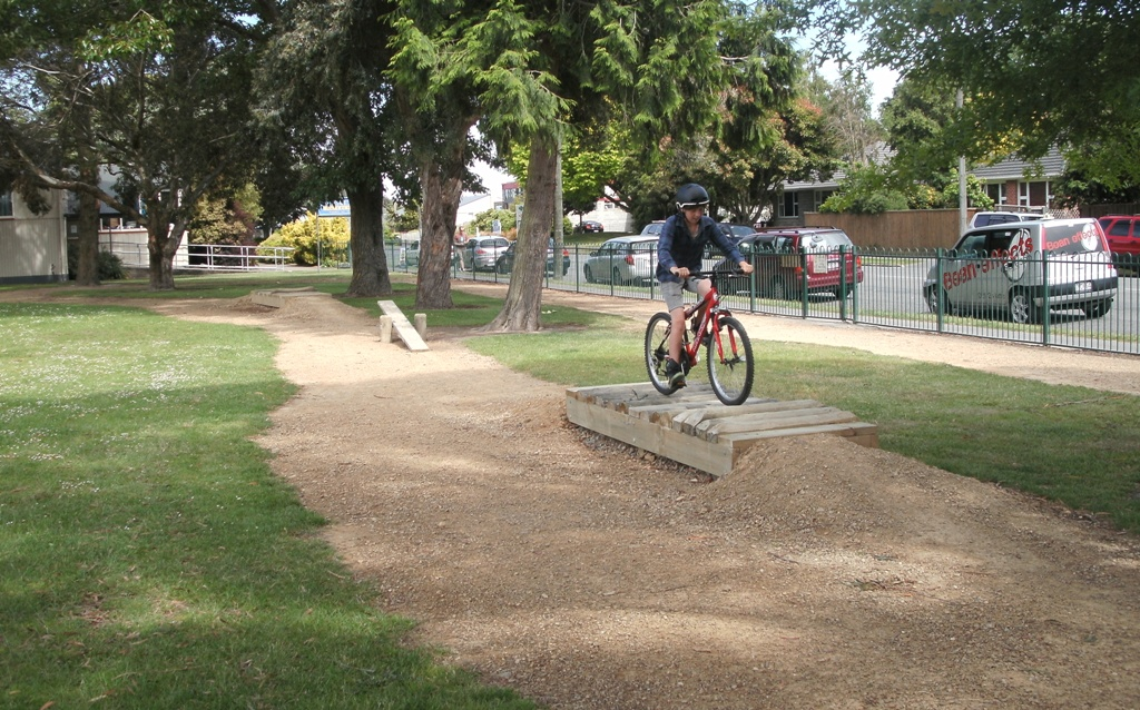 Hidden Treasures: Kendal School Bike Track