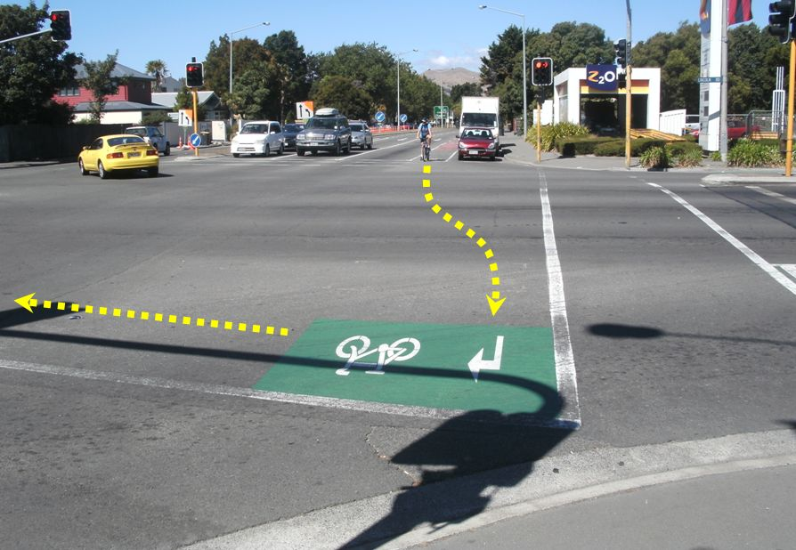 Clever Cycling Stuff: Hook Turn Boxes