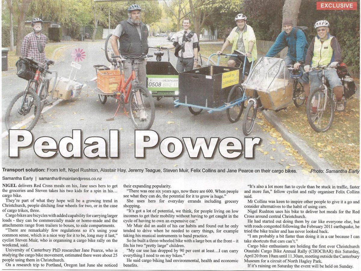 Flashback Friday: Cargo Bike Power
