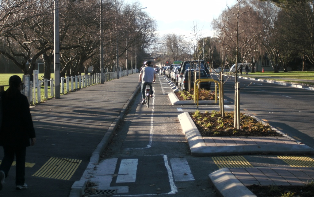 First Look: Ilam Road Cycleway