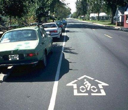 Cycling Parked Car Doors