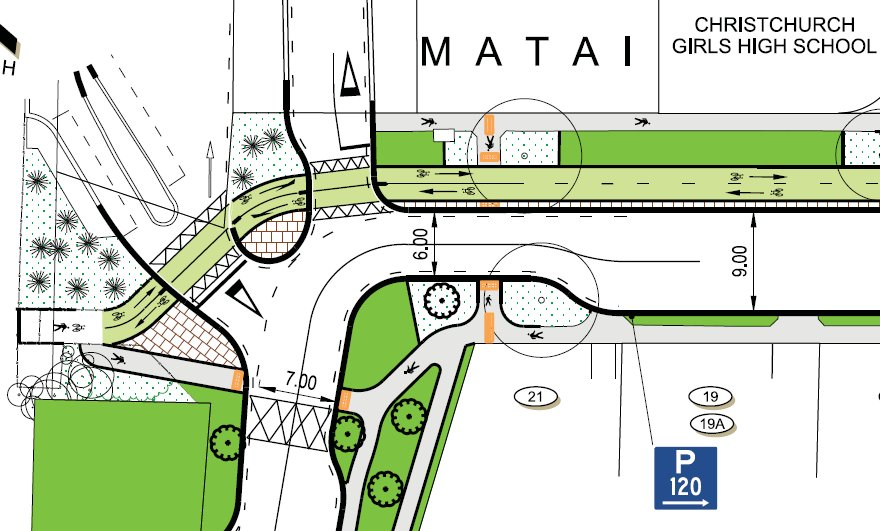 Matai St East Cycleway Consultation