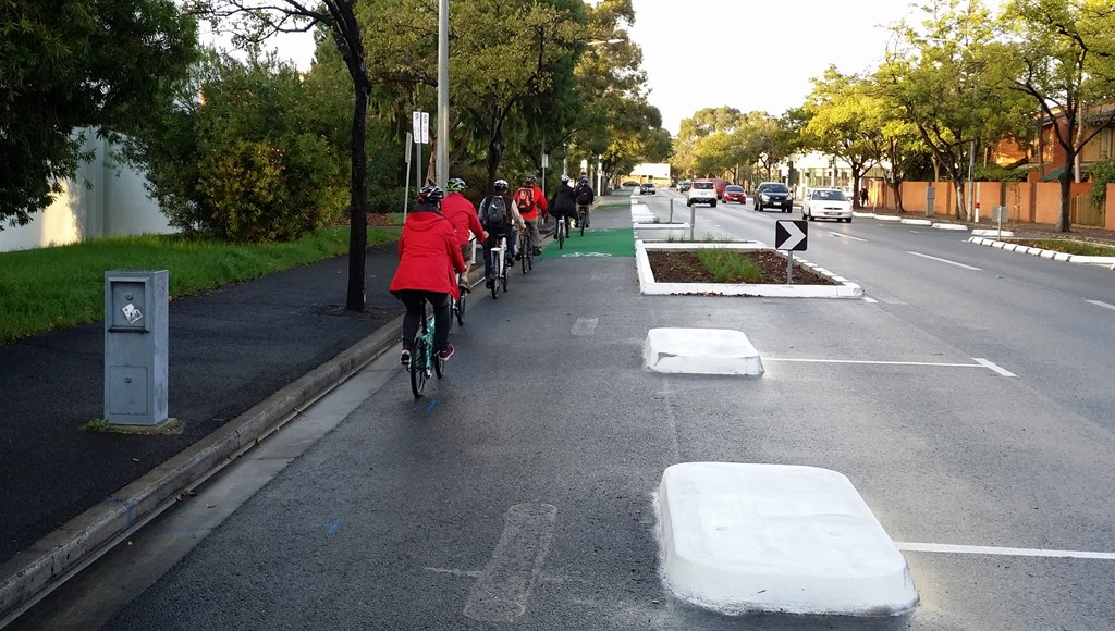 Adelaide: Frome Street Bikeway