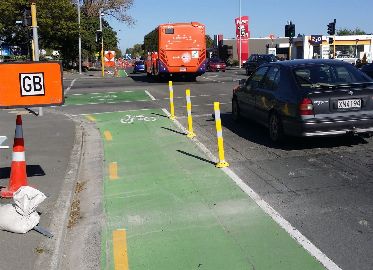 Cycling projects underway around Christchurch