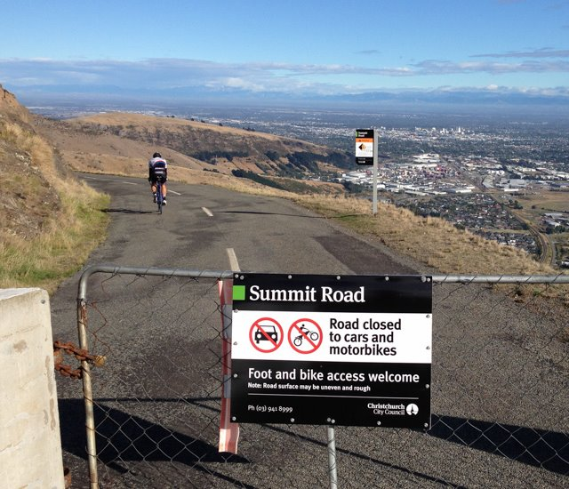 Another Summit Rd section open for cycling