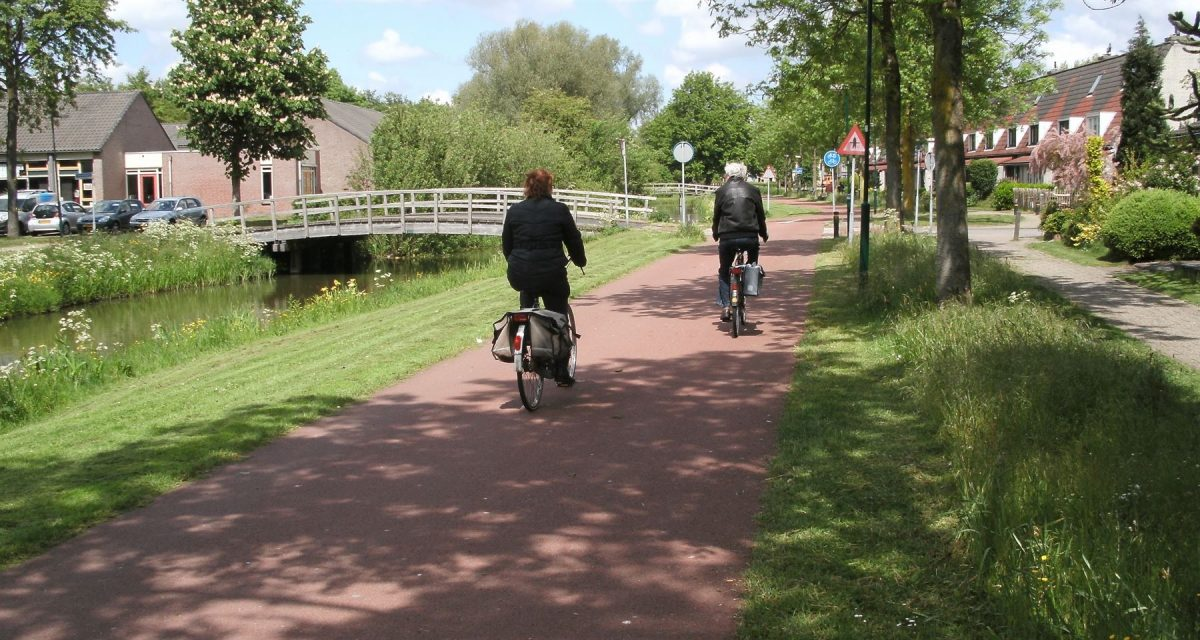 Cycling in Houten – a triumph in Planning