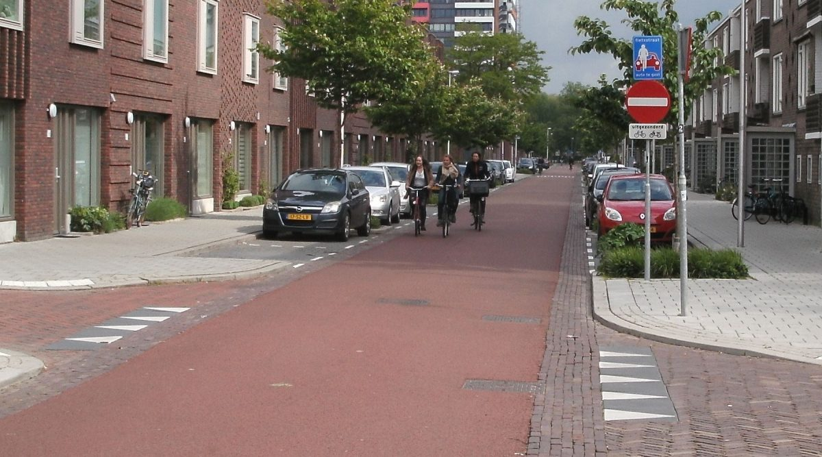 Cycling in Utrecht