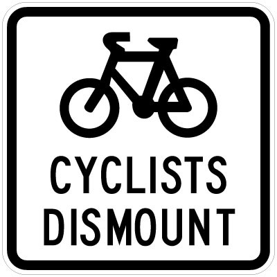 Police suggest cyclists get off the road