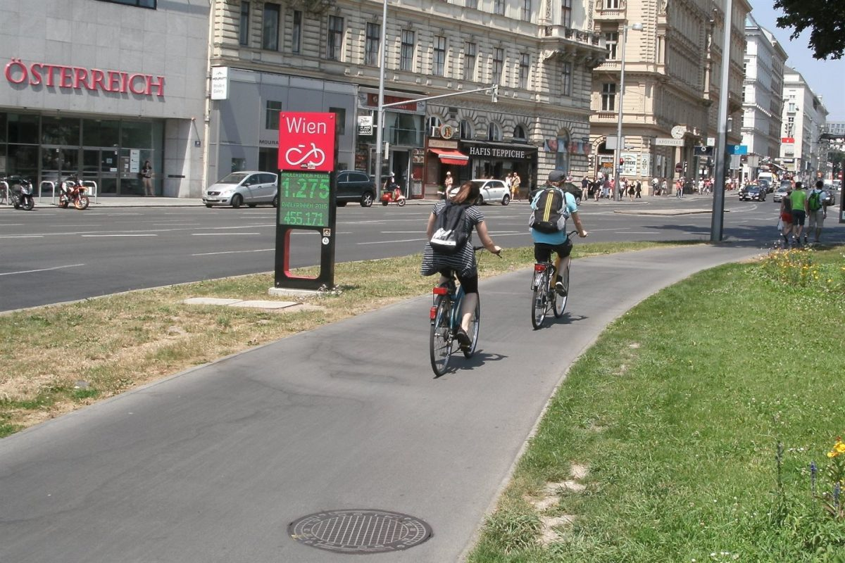 Vienna: Cycling on the Rise