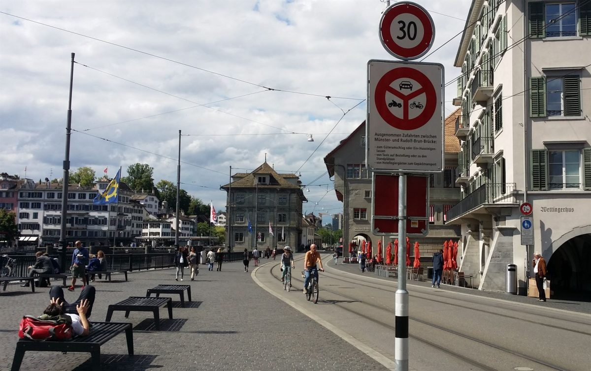 Cycling in Zürich: An uphill challenge