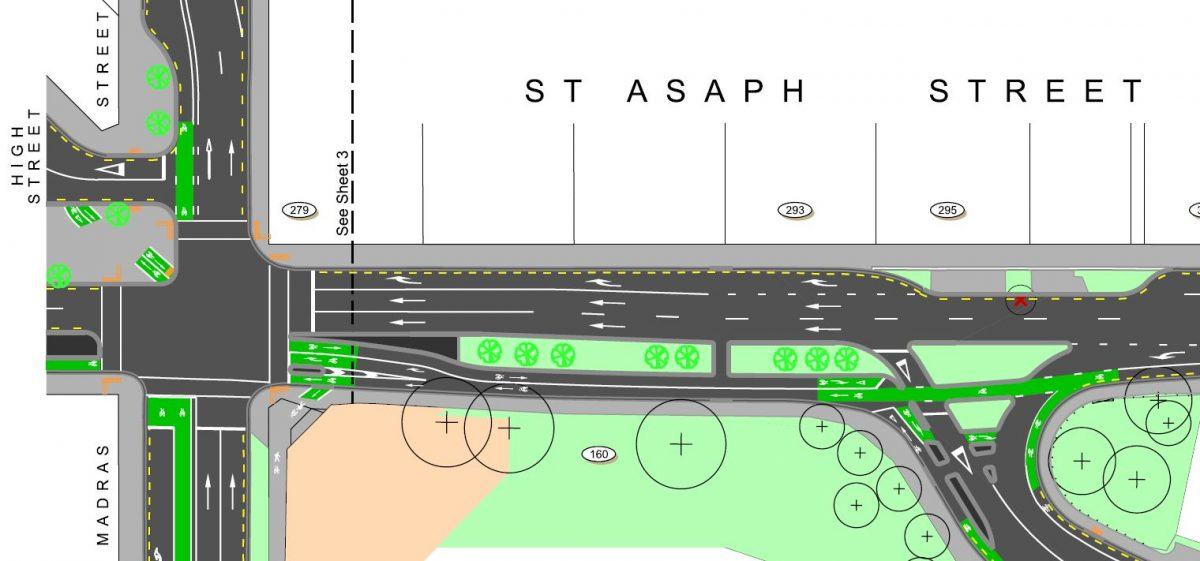 Accessible City 4: St Asaph St changes