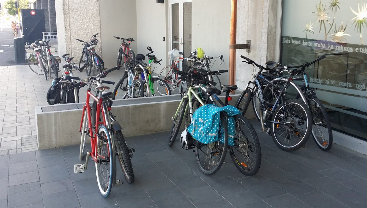 Where would you like some bike parking?