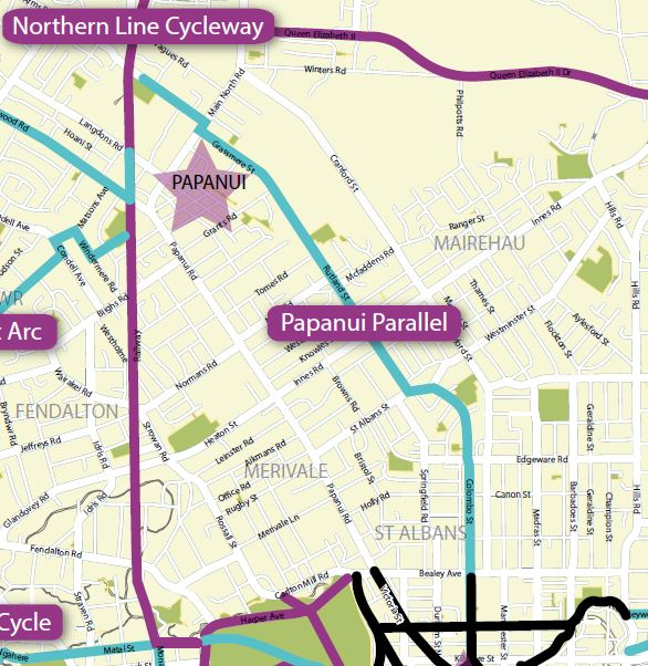 Papanui Parallel Cycleway Consultation