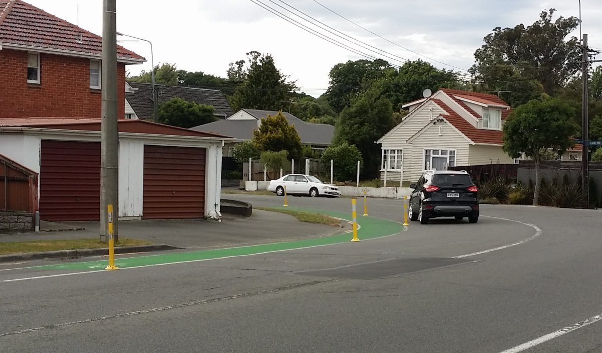 Photo of the Day: More new Cycle Lane Separators