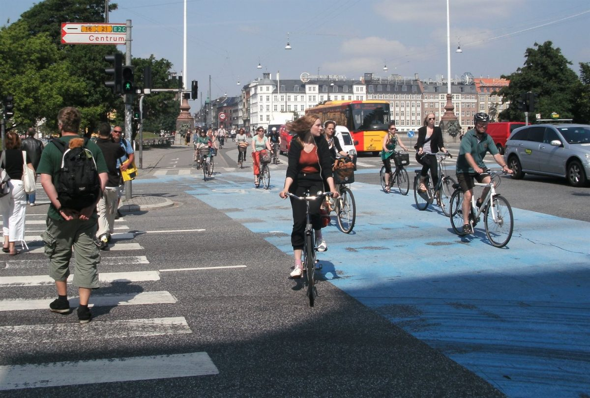 Flashback: Cycling in Copenhagen