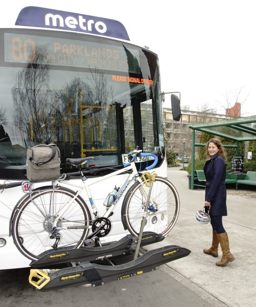 Bike and bus can go together well too