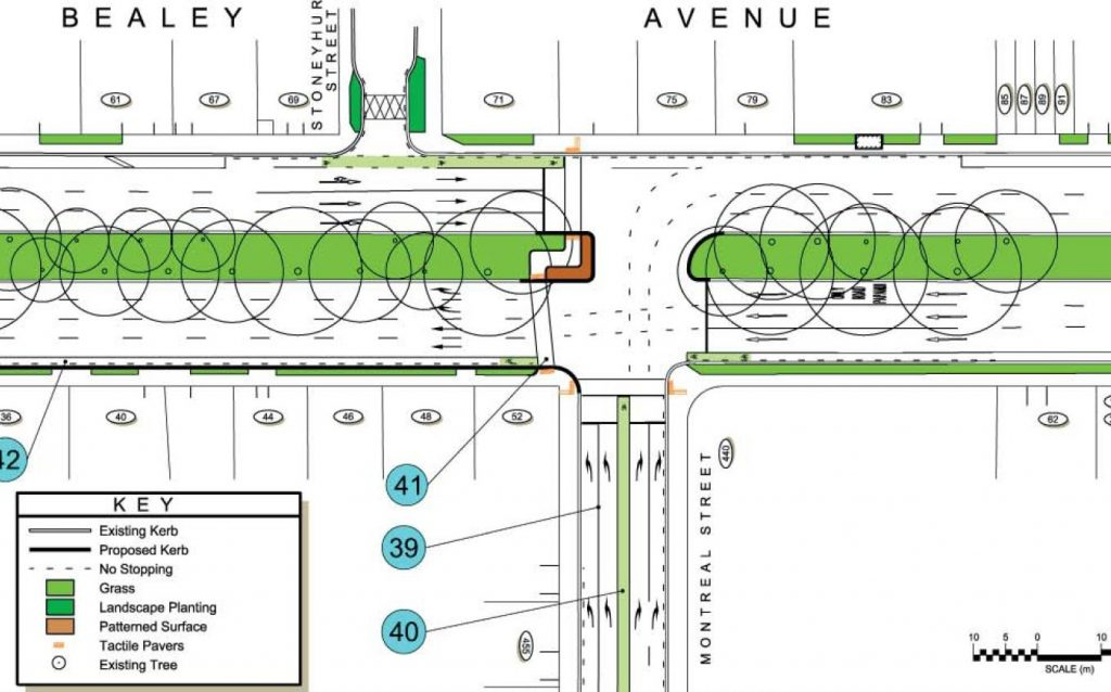 Montreal St and Bealey Ave also get cycling improvements