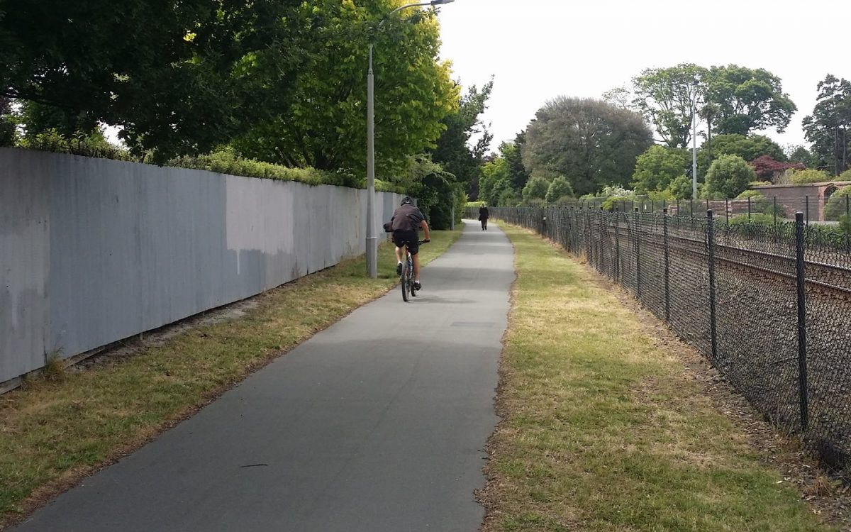 Hidden Treasures: Chch Northern Railway Cycleway