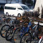 A cycle-friendly hotel