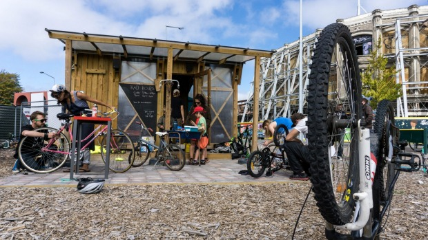 Always plenty going on at the RAD Bikes shed (c/ Isaac Spedding)