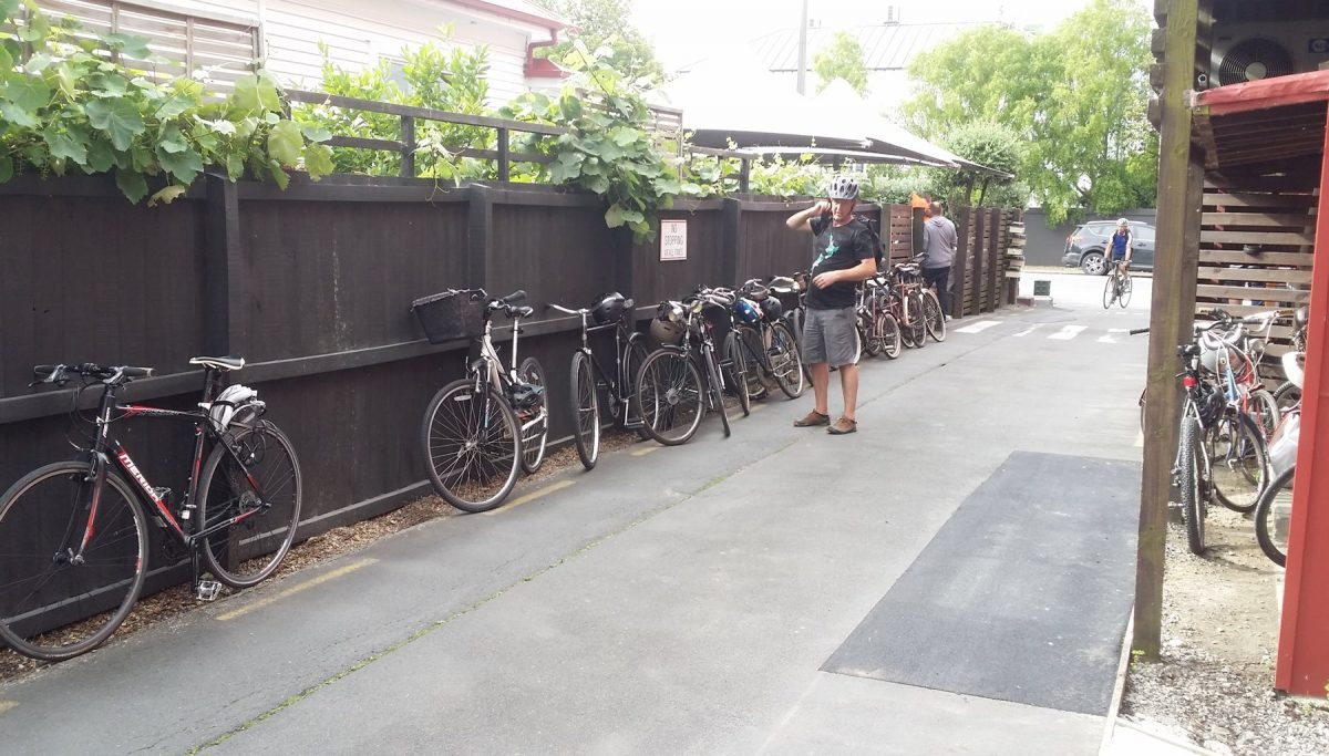 Photo of the Day: The pub run – by bike