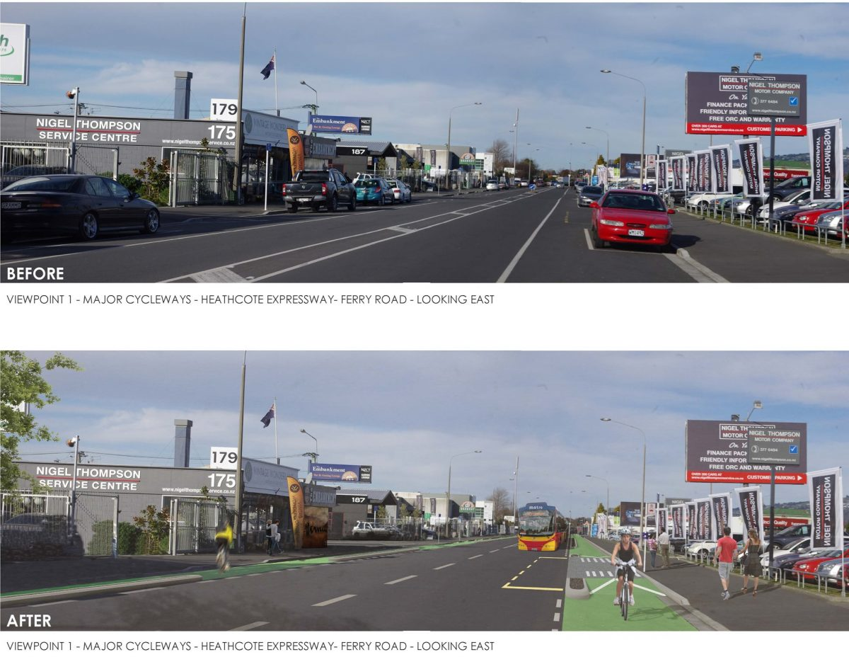 Ferry Road a link or a gauntlet for the Heathcote Expressway?
