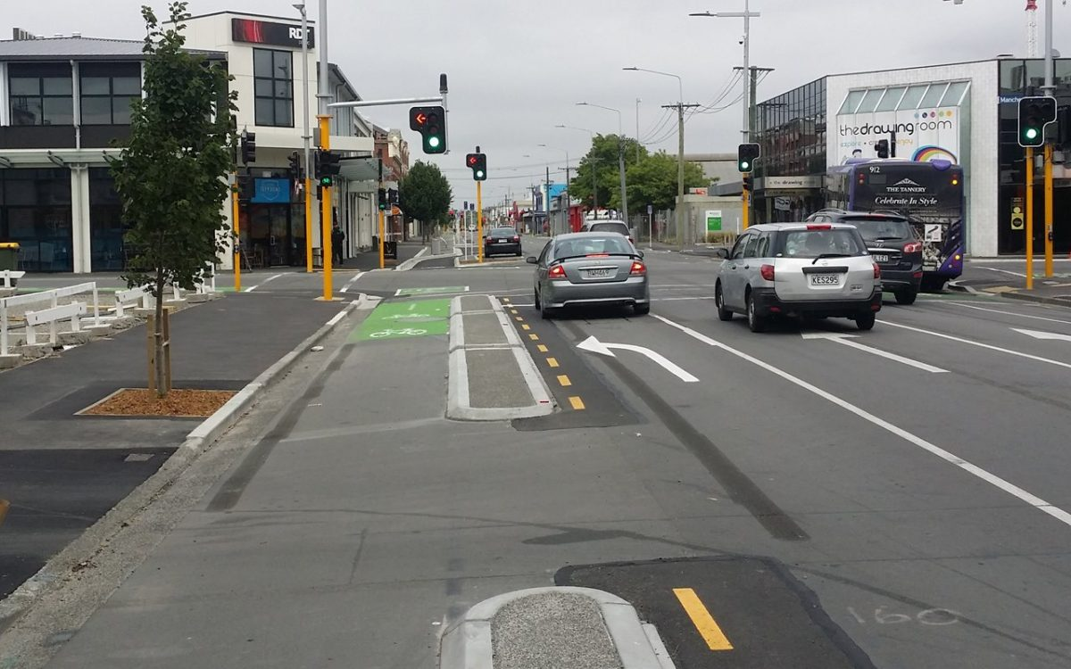 First look: Christchurch cycleways underway