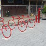Photo of the Day: New CBD bike parking
