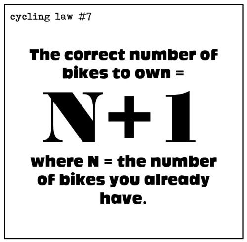 "Are you a ""one bike"" or ""multi bike"" person?"