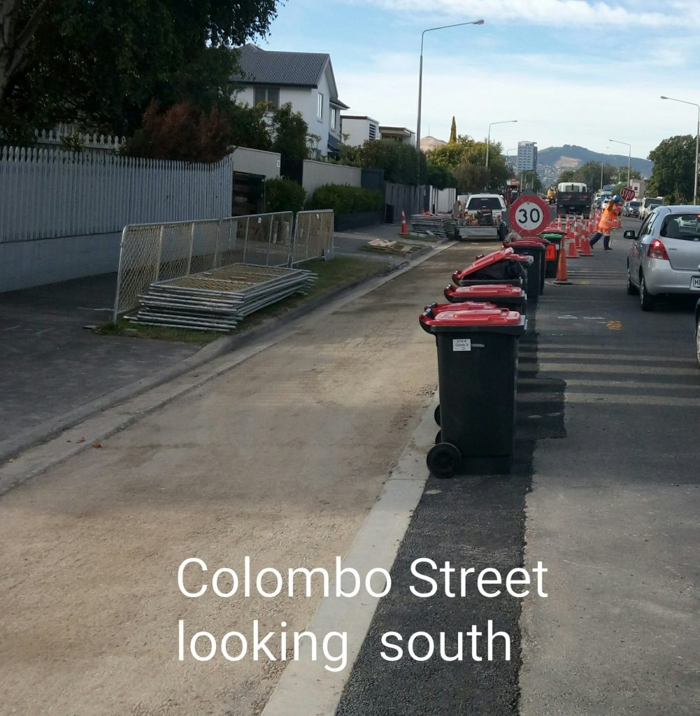 Colombo St looking south