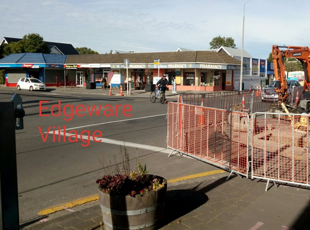 Edgeware village