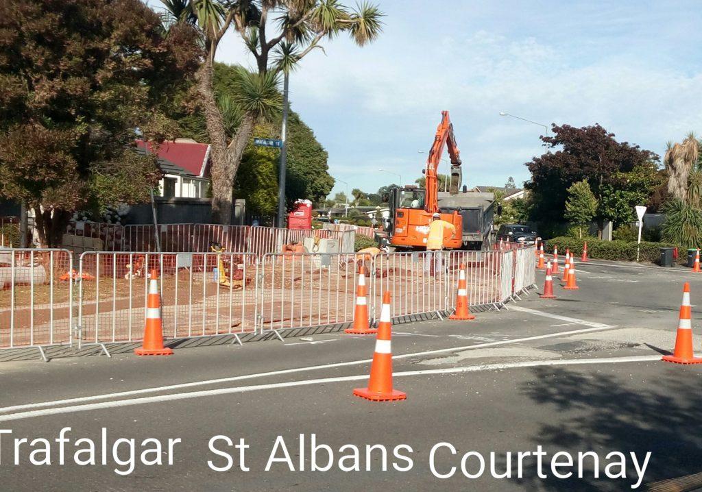 Trafalgar / St Albans / Courtenay
