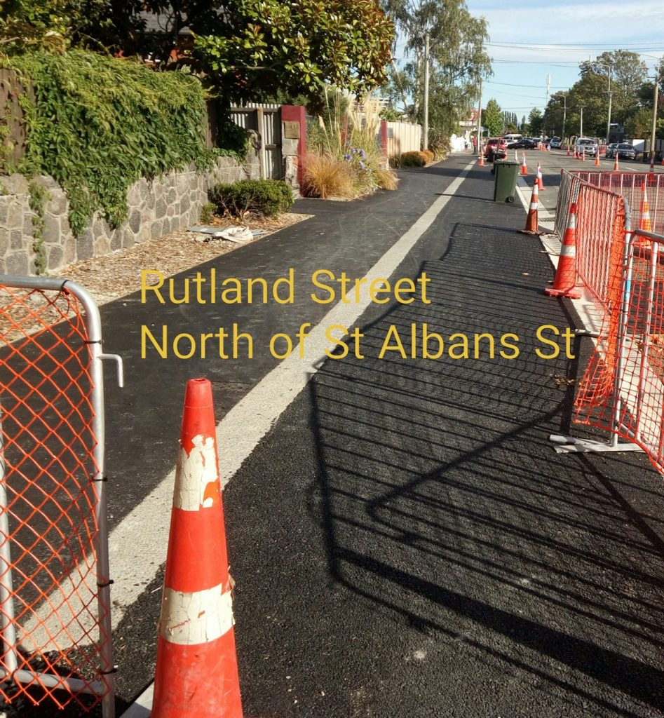 Rutland St north of St Albans