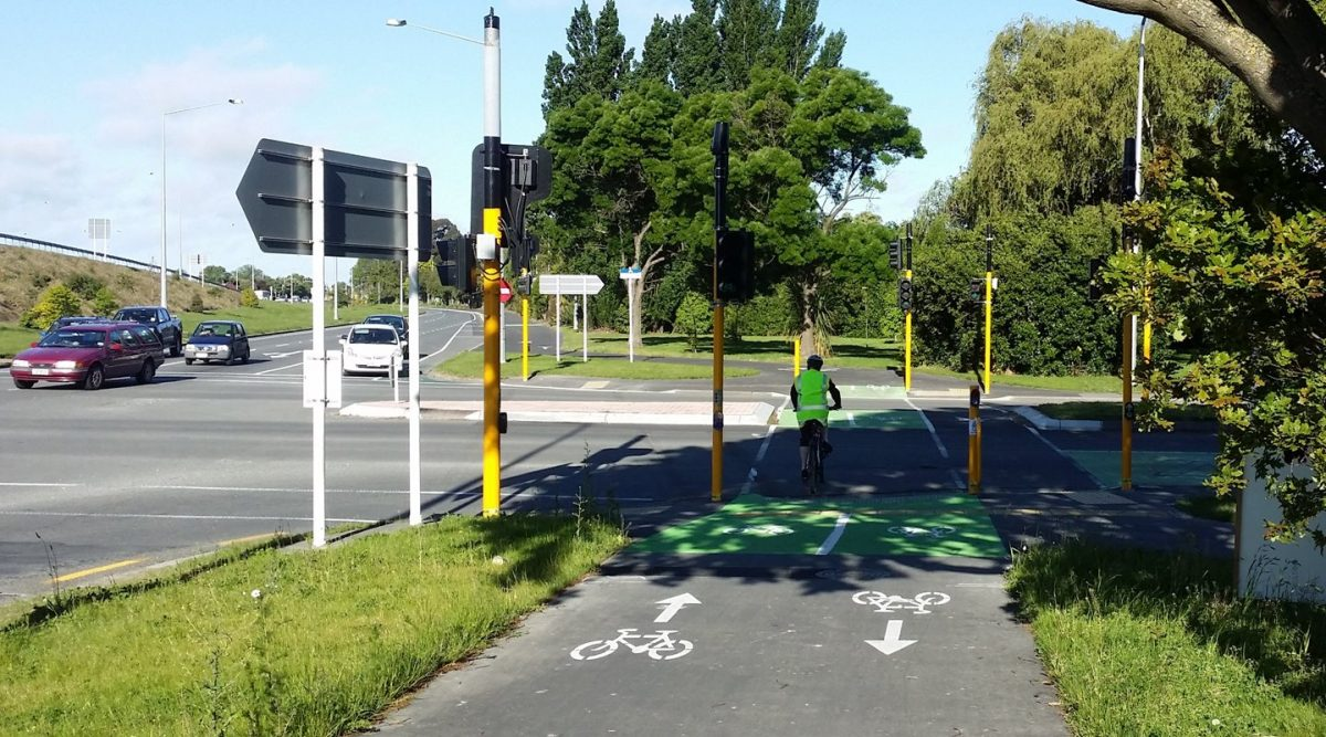 Photo of the Day: New cycleways