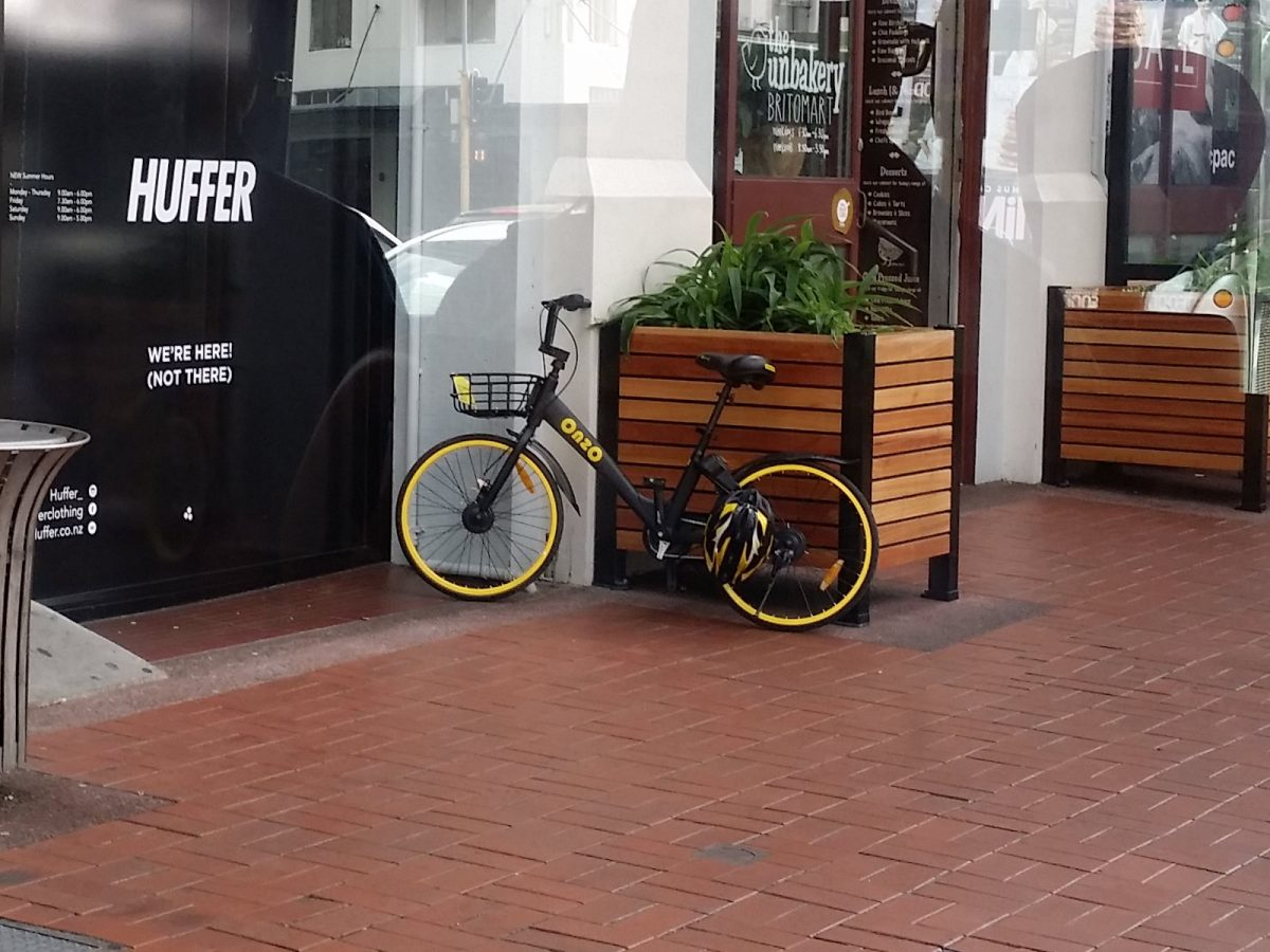 Photo of the Day: Auckland Dockless Bike Share