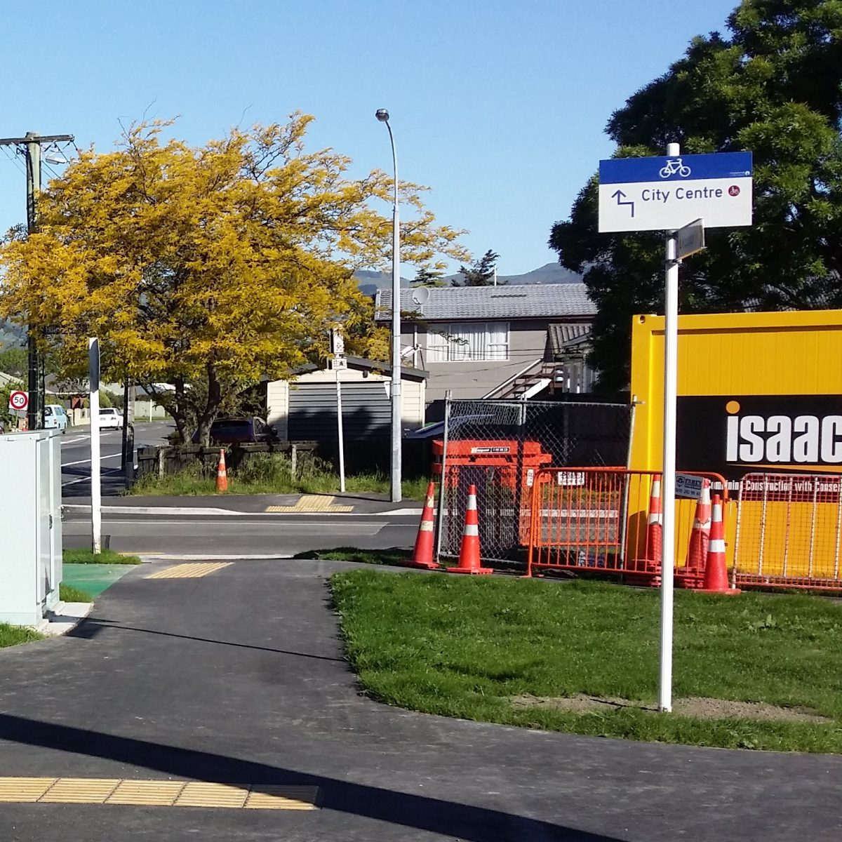 Photo (and a half) of the Day: Cycleway signage