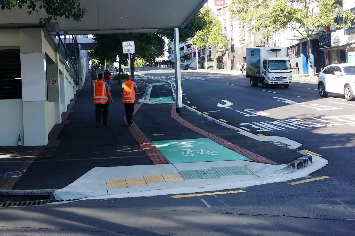 Photo of the Day: Auckland Cycleways