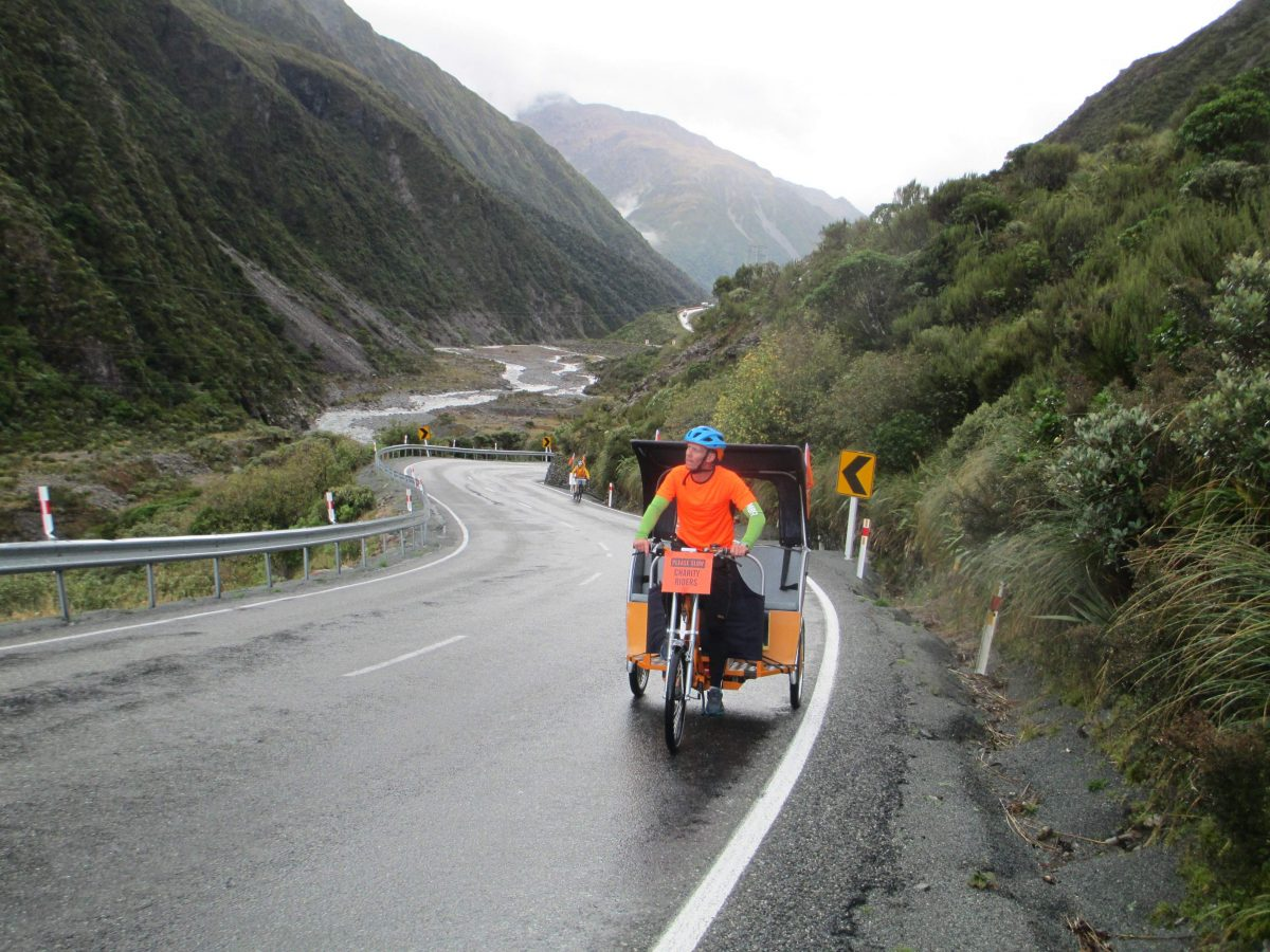 Rickshaw Charity Ride Success