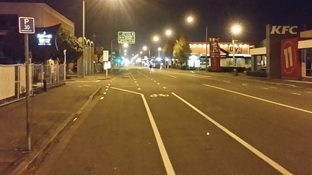Night-time Cycling