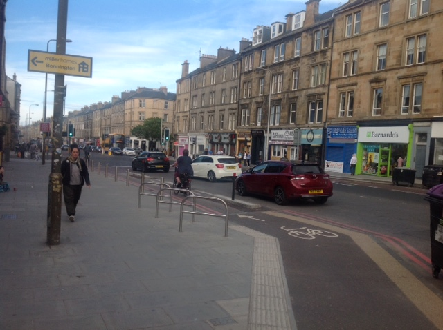 Guest Post: Cycling in Edinburgh