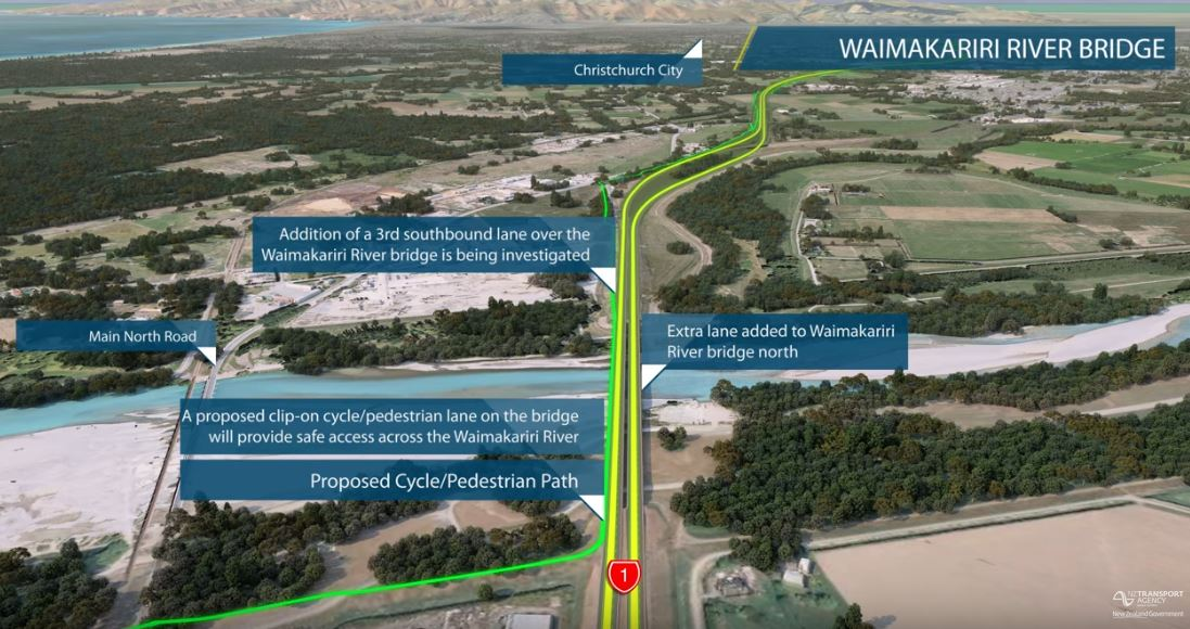 New northern cycleway to Waimakariri coming