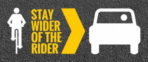 Stay wider of the rider – sign the petition