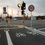 Photo of the Day: New cycleway crossings in town