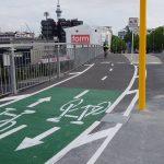 Recent cycleways in Auckland