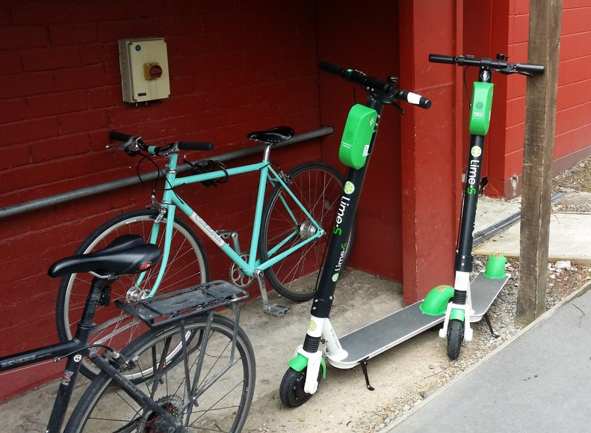 Can e-scooters and bikes co-exist?